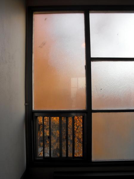 The window in my landing